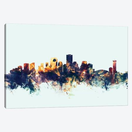 New Orleans, Louisiana, USA On Blue Canvas Print #MTO359} by Michael Tompsett Canvas Print