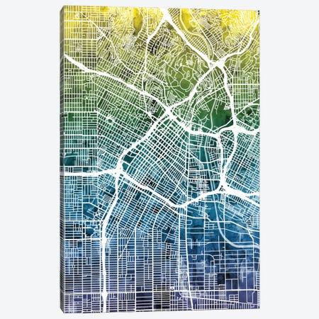 Los Angeles, California, USA Canvas Print #MTO35} by Michael Tompsett Canvas Print