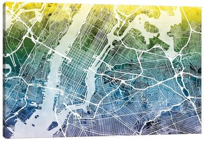 New York City, New York, USA I Canvas Art Print