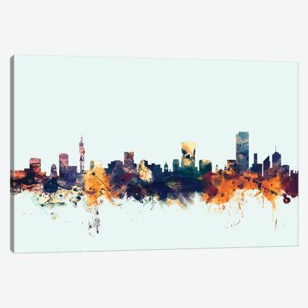 Pretoria, South Africa On Blue Canvas Print #MTO395} by Michael Tompsett Canvas Art
