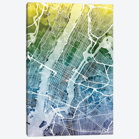 New York City, New York, USA II Canvas Print #MTO39} by Michael Tompsett Canvas Wall Art