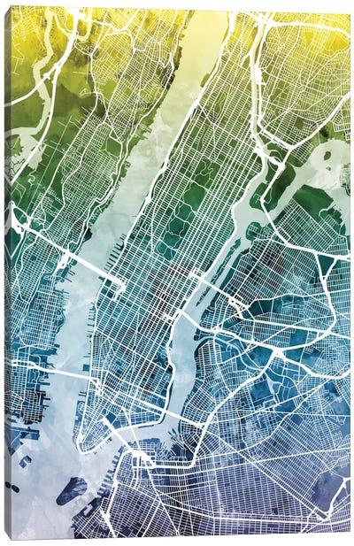 New York City, New York, USA II Canvas Art Print