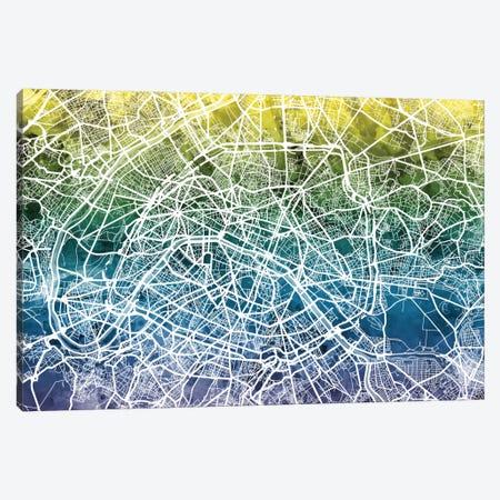 Paris, France Canvas Print #MTO40} by Michael Tompsett Art Print