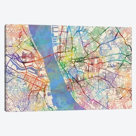 Liverpool, England, United Kingdom Canvas Print #MTO438} by Michael Tompsett Canvas Artwork