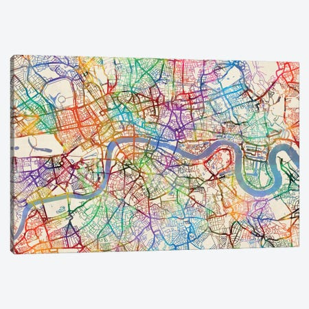 London, England, United Kingdom Canvas Print #MTO439} by Michael Tompsett Canvas Artwork
