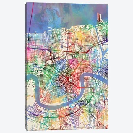 New Orleans, Louisiana, USA Canvas Print #MTO442} by Michael Tompsett Canvas Print