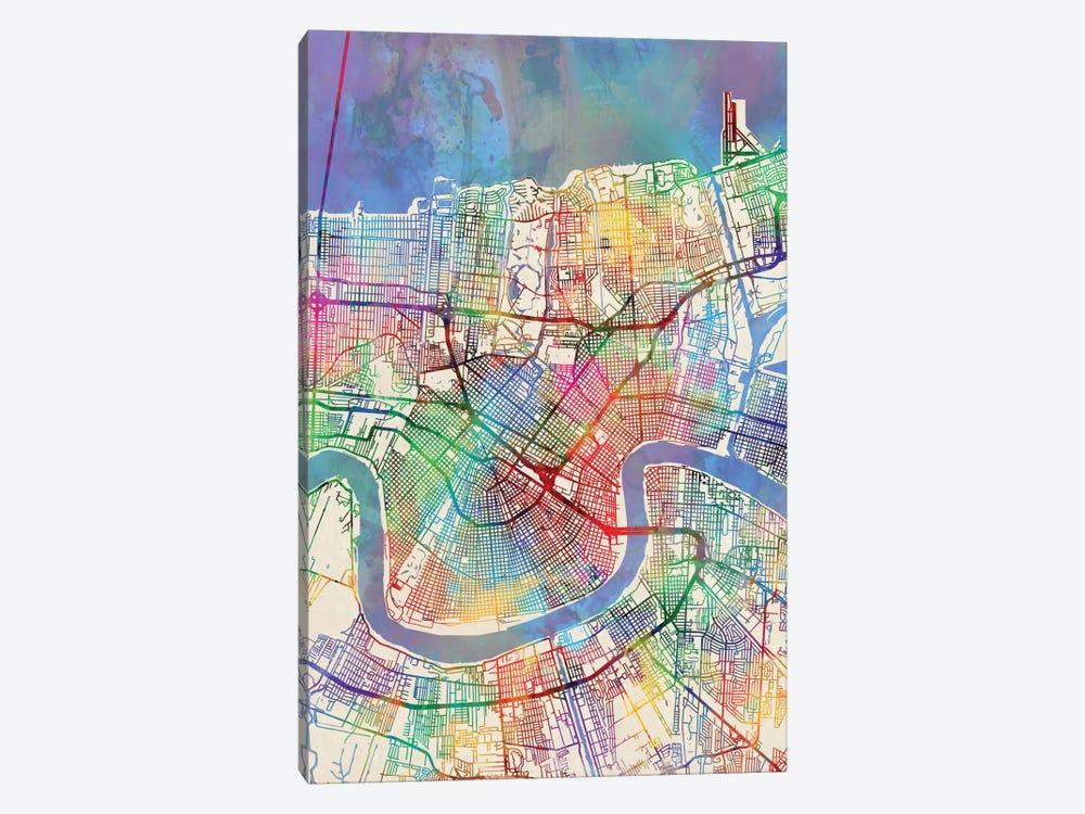New Orleans, Louisiana, USA by Michael Tompsett 1-piece Canvas Art