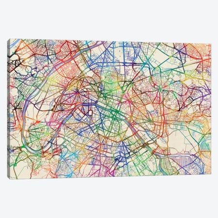 Paris, France Canvas Print #MTO444} by Michael Tompsett Canvas Artwork