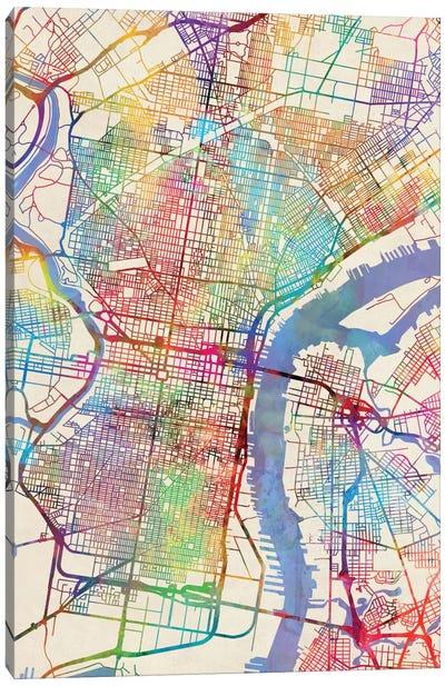Philadelphia, Pennsylvania, USA Canvas Art Print