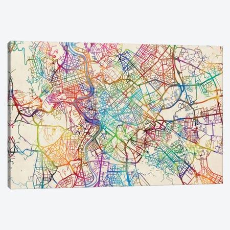 Rome, Italy Canvas Print #MTO447} by Michael Tompsett Canvas Art