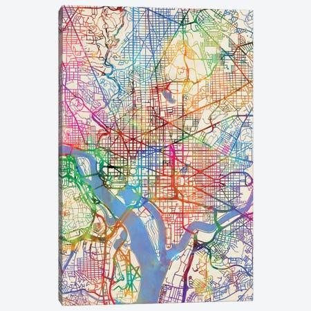 Washington, D.C., USA Canvas Print #MTO451} by Michael Tompsett Canvas Wall Art