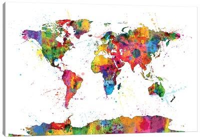 Drops of Color I Canvas Art Print