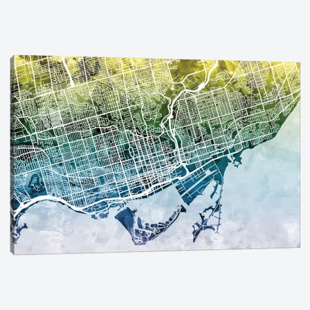 Toronto, Canada Canvas Print #MTO46} by Michael Tompsett Canvas Artwork