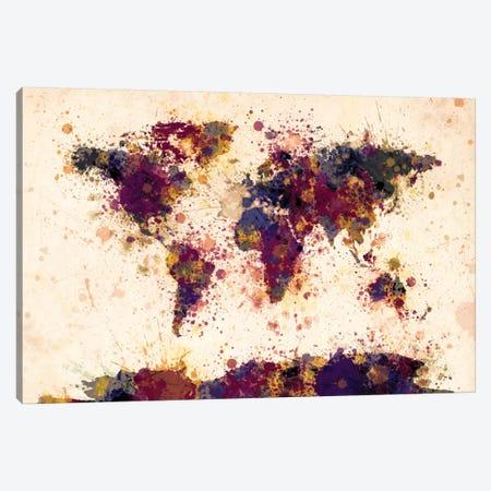 Shades Of Purple Canvas Print #MTO472} by Michael Tompsett Canvas Wall Art
