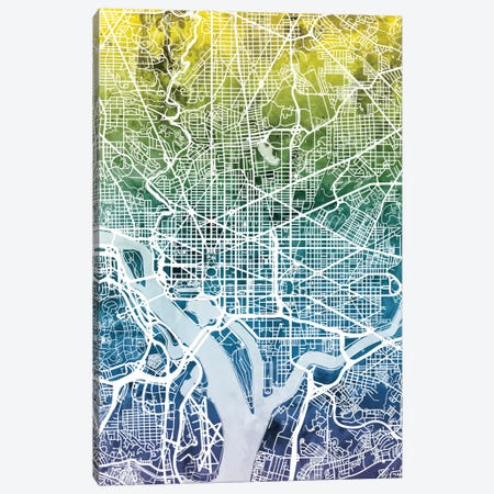 Washington, D.C., USA Canvas Print #MTO47} by Michael Tompsett Canvas Artwork