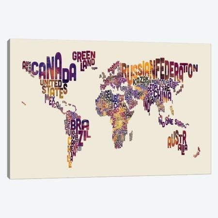 Typography I Canvas Print #MTO483} by Michael Tompsett Canvas Art Print