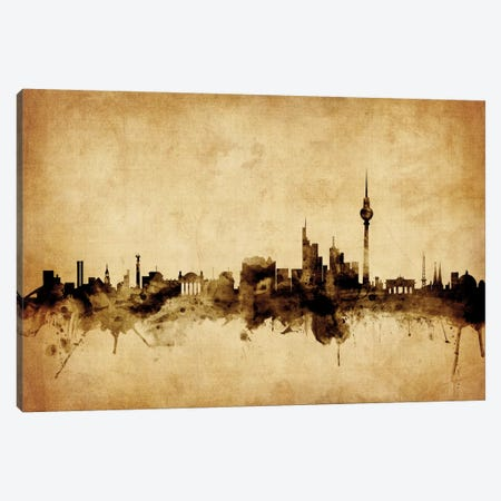 Berlin, Germany Canvas Print #MTO48} by Michael Tompsett Art Print