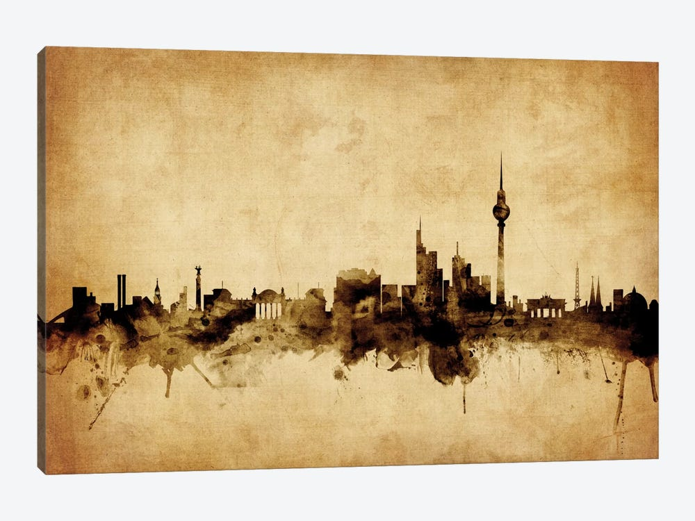 Berlin, Germany by Michael Tompsett 1-piece Canvas Art Print