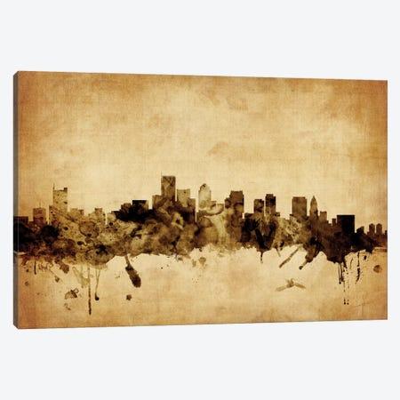 Boston, Massachusetts, USA Canvas Print #MTO49} by Michael Tompsett Art Print