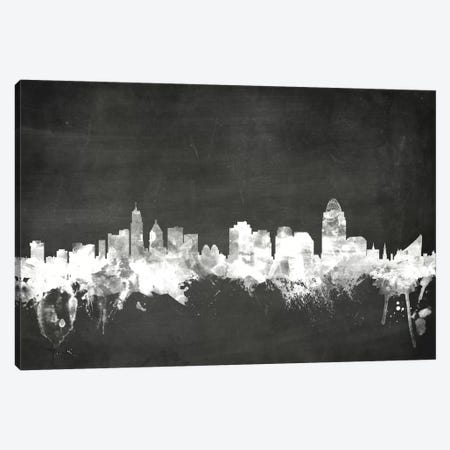 Cincinnati, Ohio, USA Canvas Print #MTO4} by Michael Tompsett Canvas Artwork