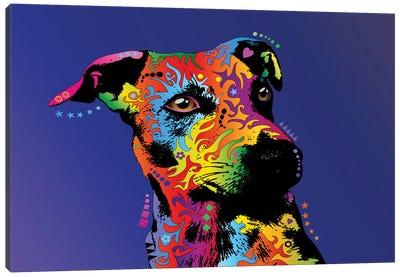 Rainbow Jack Russell Terrier Canvas Print #MTO500