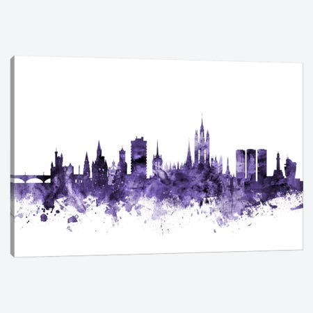 Aberdeen, Scotland Skyline Canvas Print #MTO529} by Michael Tompsett Canvas Art