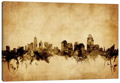 Cincinnati, Ohio, USA Canvas Art Print