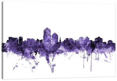 Albuquerque, New Mexico Skyline Canvas Art Print