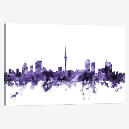 Auckland, New Zealand Skyline Canvas Print #MTO538} by Michael Tompsett Canvas Print