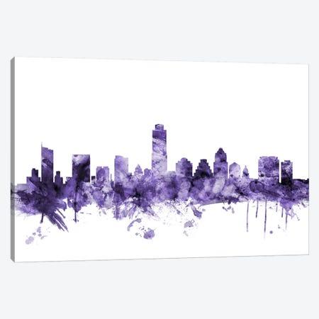 Austin, Texas Skyline Canvas Print #MTO539} by Michael Tompsett Canvas Print
