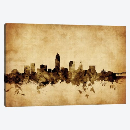 Cleveland, Ohio, USA Canvas Print #MTO53} by Michael Tompsett Canvas Art