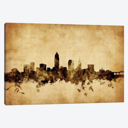 Cleveland, Ohio, USA Canvas Print #MTO53} by Michael Tompsett Canvas Art