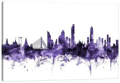 Bangkok, Thailand Skyline Canvas Art Print