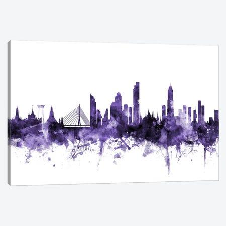 Bangkok, Thailand Skyline 3-Piece Canvas #MTO541} by Michael Tompsett Canvas Artwork