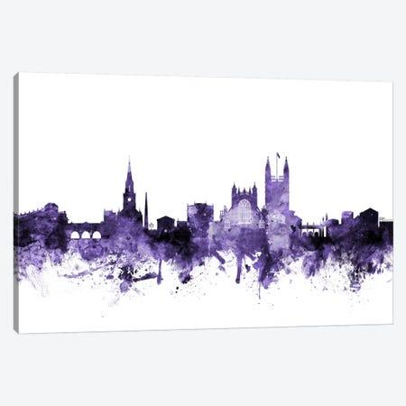 Bath, England Skyline Canvas Print #MTO544} by Michael Tompsett Canvas Art Print