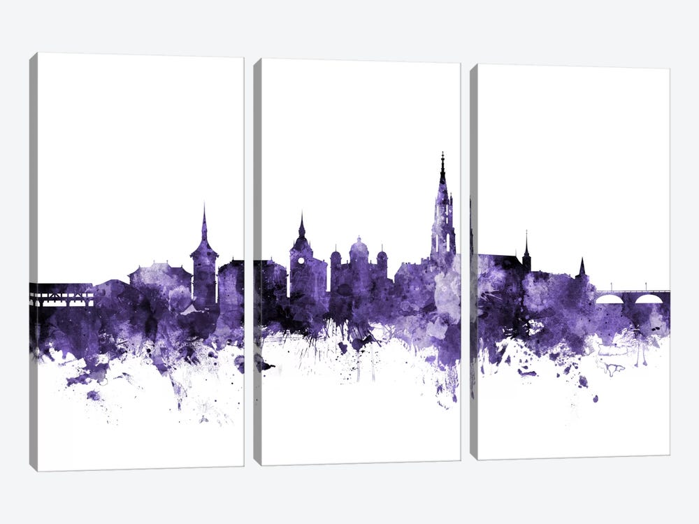 Bern, Switzerland Skyline by Michael Tompsett 3-piece Art Print