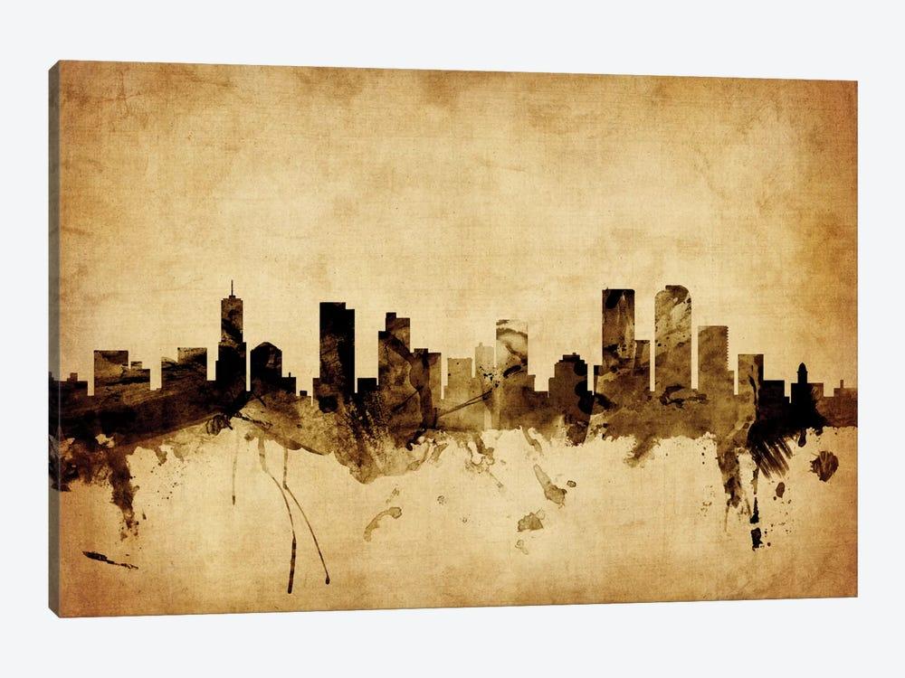 Denver, Colorado, USA Canvas Art Print by Michael Tompsett | iCanvas