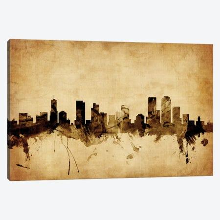 Denver, Colorado, USA Canvas Print #MTO54} by Michael Tompsett Art Print