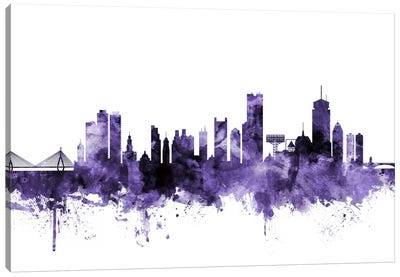 Boston, Massachusetts Skyline I Canvas Art Print