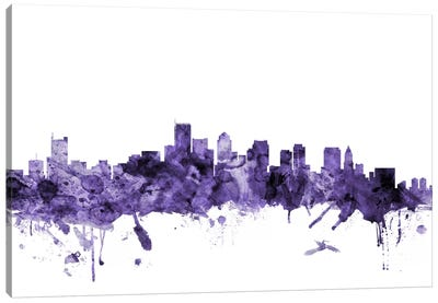 Boston, Massachusetts Skyline II Canvas Art Print