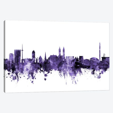 Bremen, Germany Skyline Canvas Print #MTO554} by Michael Tompsett Canvas Art