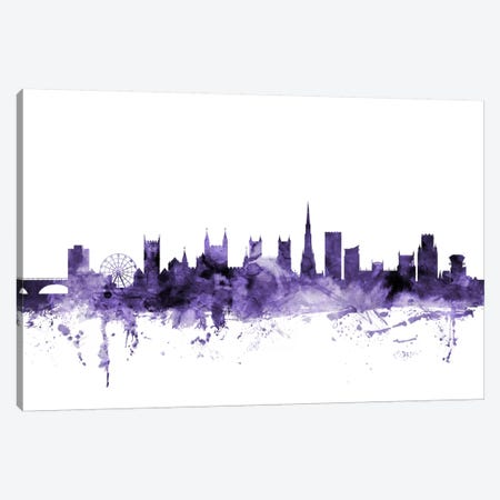 Bristol, England Skyline Canvas Print #MTO557} by Michael Tompsett Canvas Artwork