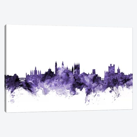 Cambridge, England Skyline Canvas Print #MTO562} by Michael Tompsett Canvas Artwork