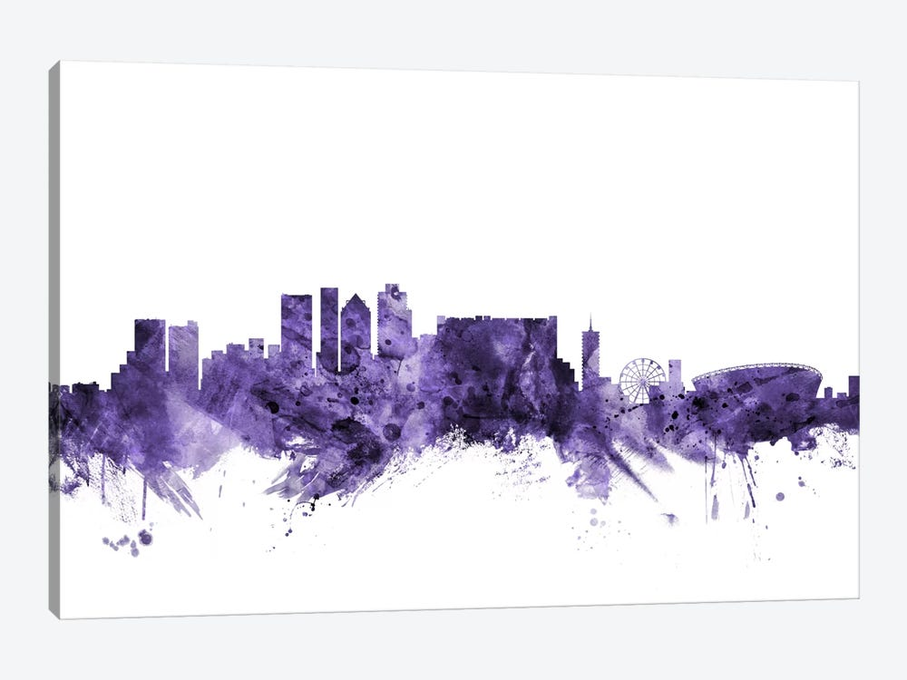 Cape Town, South Africa Skyline by Michael Tompsett 1-piece Art Print