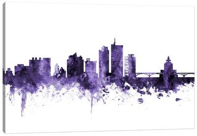 Cedar Rapids, Iowa Skyline Canvas Art Print