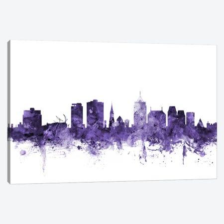 Christchurch, New Zealand Skyline Canvas Print #MTO569} by Michael Tompsett Canvas Art