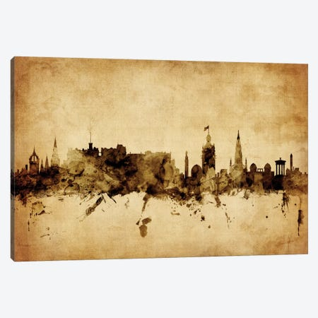 Edinburgh, Scotland, United Kingdom Canvas Print #MTO56} by Michael Tompsett Canvas Art Print