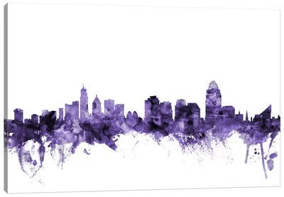 Cincinnati, Ohio Skyline Canvas Art Print