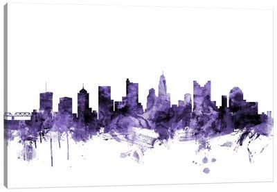 Columbus, Ohio Skyline Canvas Art Print