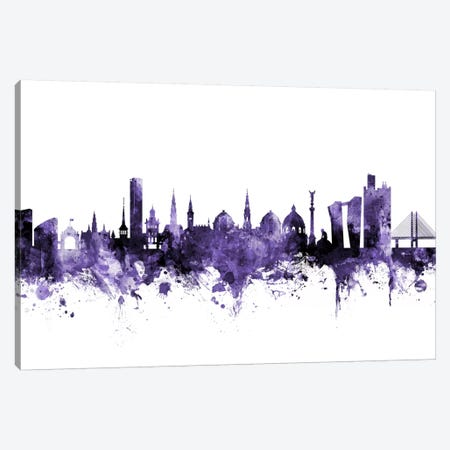 Copenhagen, Denmark Skyline Canvas Print #MTO574} by Michael Tompsett Canvas Artwork